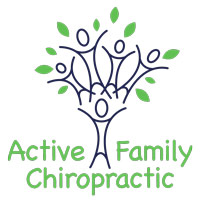 active family chiropractic logo for white wolf graphics